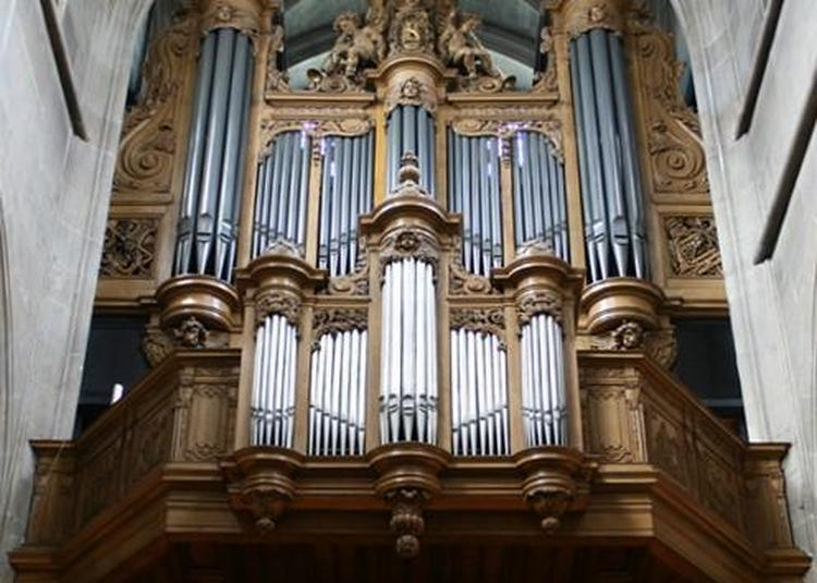 Autour de l'orgue à Brest