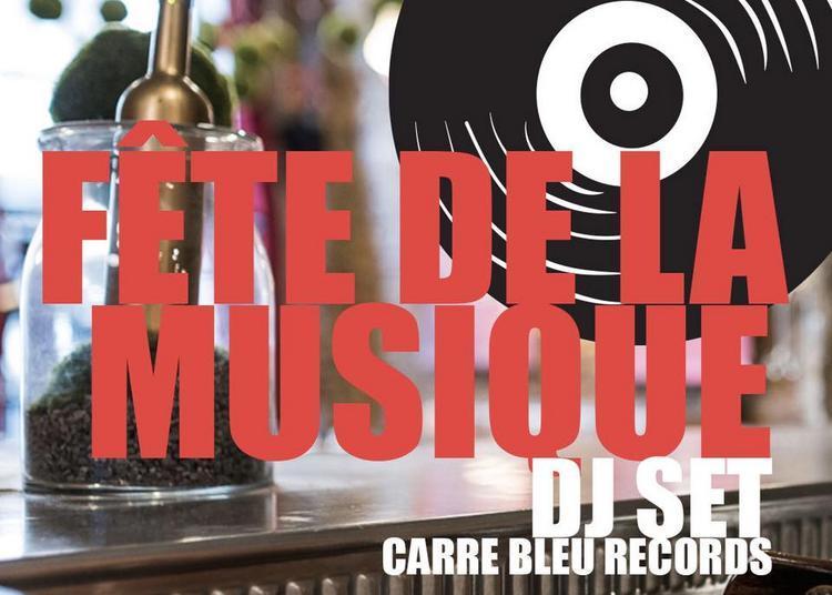 DJ Set carre bleu records à Lyon