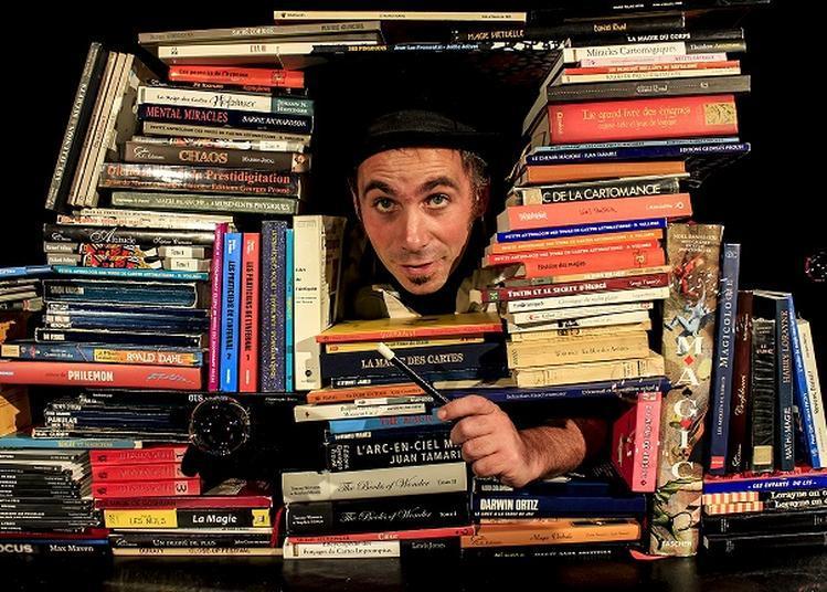 Docteur Troll et sa bibliothèque magique à Fleurance
