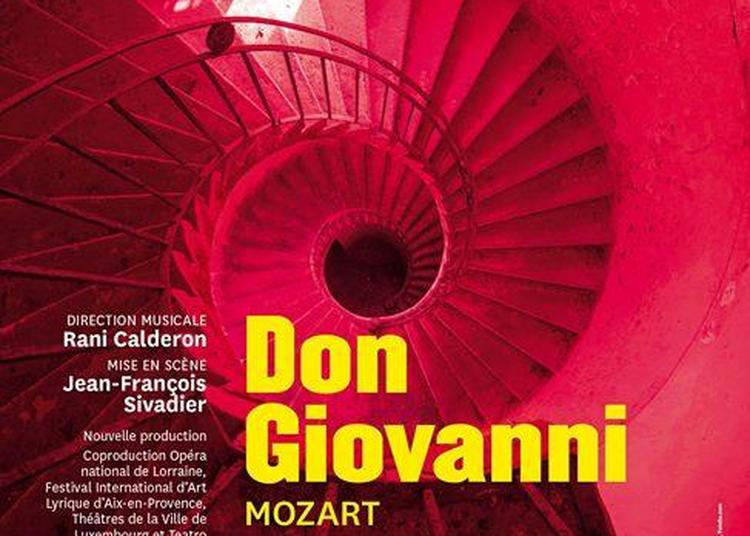 Don Giovanni, Mozart à Nancy