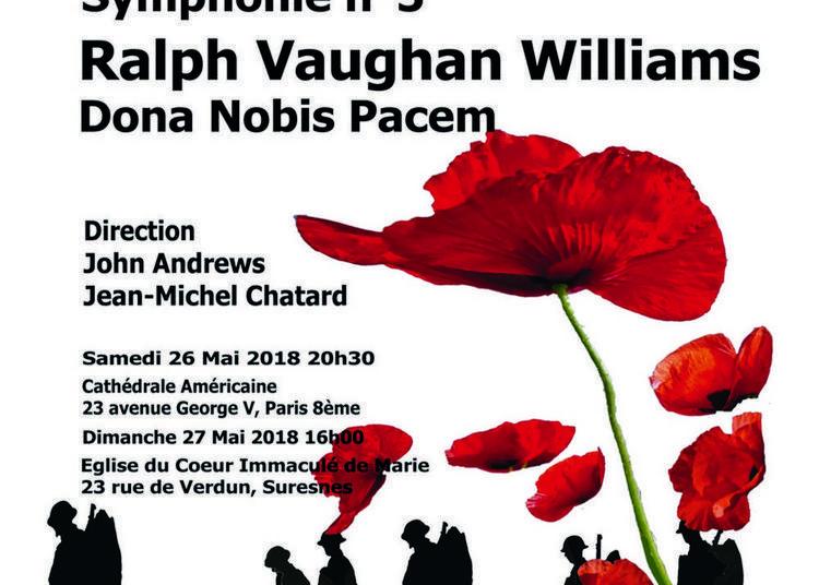 Symphonie n°5  de Tchaïkovsky et Dona Nobis Pacem de Ralph Vaughan Williams à Paris 8ème