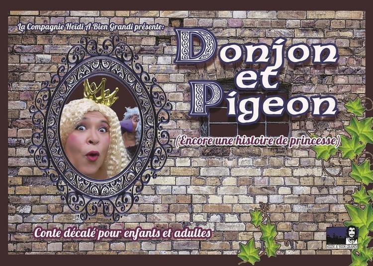 Donjon et Pigeon à Breal Sous Montfort