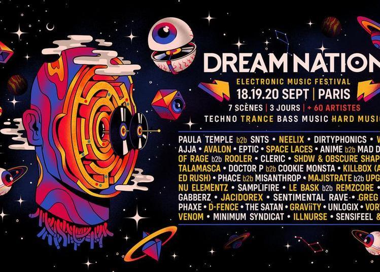 Dream Nation 2 jr Main et Opening à Aubervilliers
