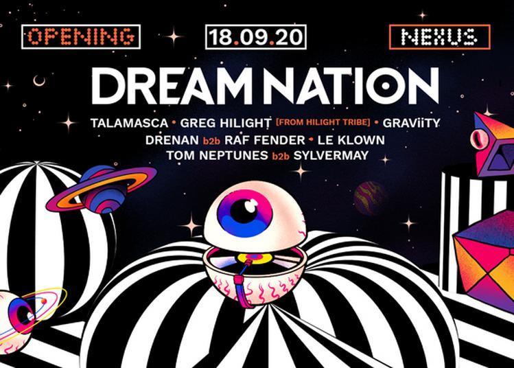Dream Nation - Opening à Pantin