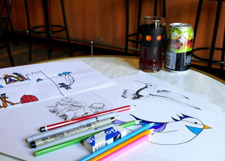 Drink & Draw ! à Auxerre