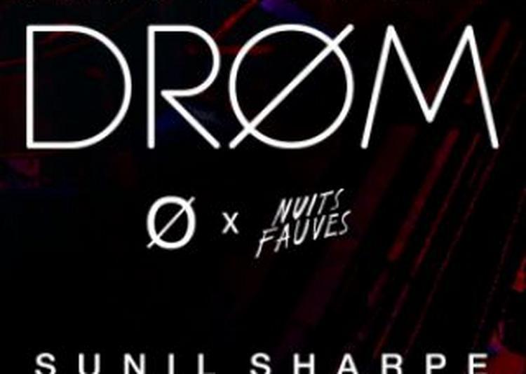 DRØM Origin : Sunil Sharpe, LGML, Modgeist (live), Elomak à Paris 13ème