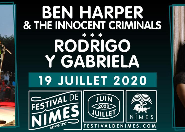 Ben Harper & The Innocents Criminals et Rodrigo y Gabriela à Nimes