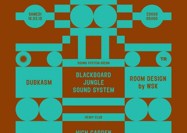 Dub Echo #22 : Blackboard Jungle Sound System à Villeurbanne