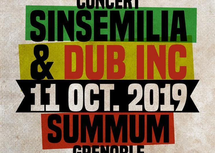 Dub Inc + Sinsemilia à Grenoble