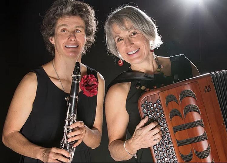Duo  accordéon-clarinettes Du Haut des Vents à Grenoble