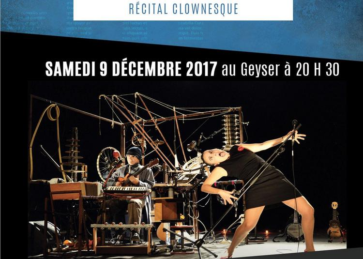 Duo Bonito, récital clownesque à Bellerive sur Allier