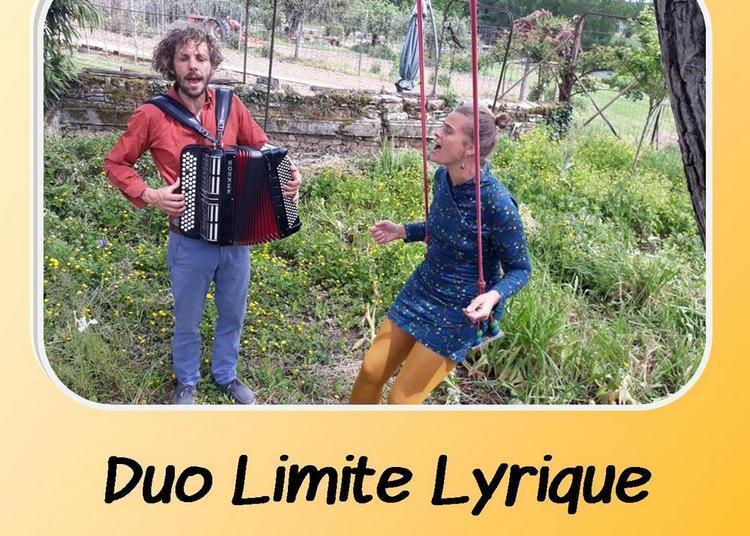 Duo Limite Lyrique à Lisle sur Tarn