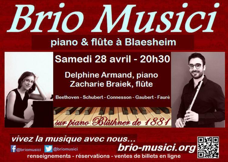 Duo  piano et  flûte à Blaesheim