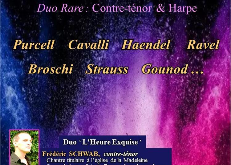 Duo Rare : Contre-ténor & Harpe à Paris 8ème