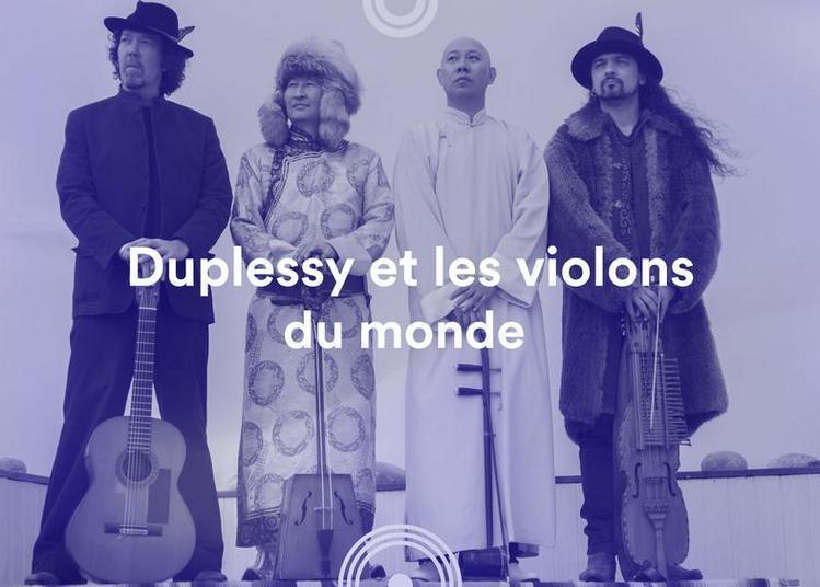 Duplessy et les violons du monde - 72e Festival de musique de Besançon à Besancon