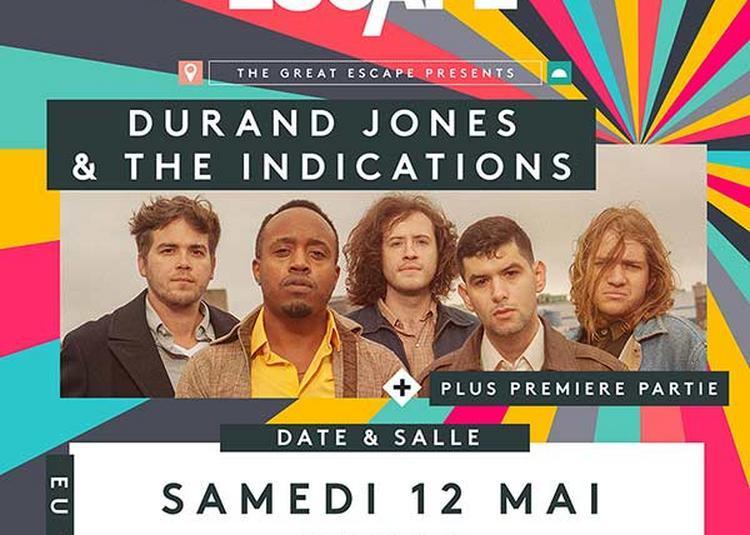 Durand Jones And The Indications à Paris 10ème