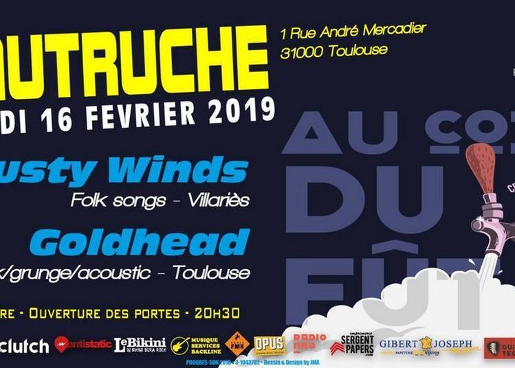 Dusty Winds - Goldhead / Progrès-Son à Toulouse