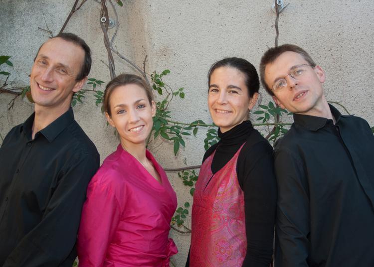 Dvorak et Smetana par le quatuor Dimitri à St-Vincent de Paul à Paris 10ème