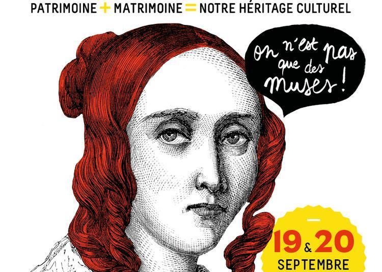 6e édition des Journées du Matrimoine : l'atelier de Marie-Claire de Marguerite Audoux à Paris 3ème