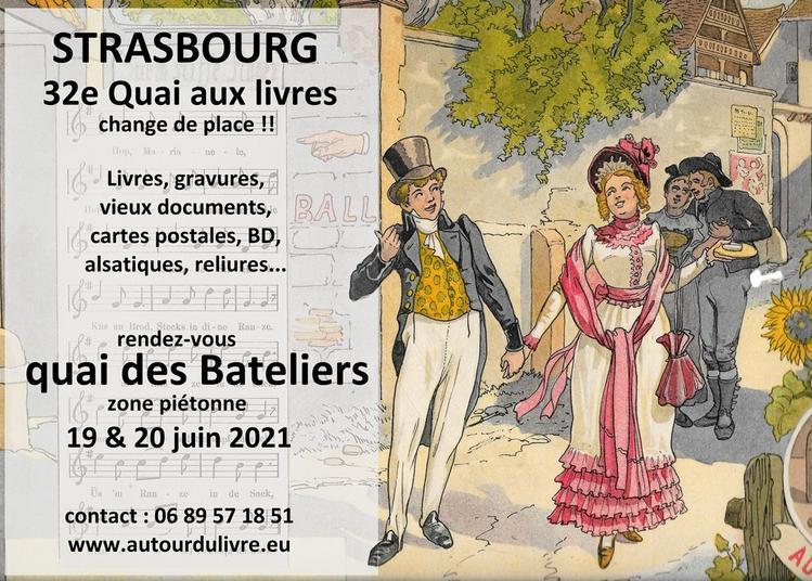 32e quai aux livres à Strasbourg 2021