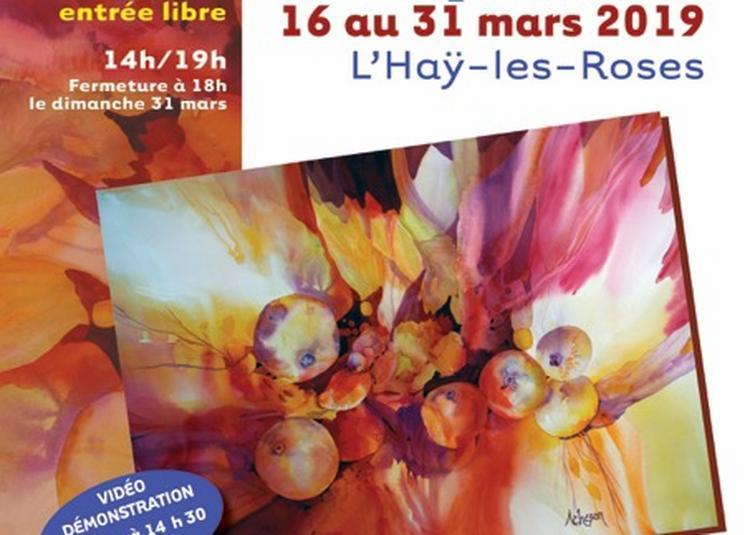 18e Salon de l'aquarelle à L'Hay les Roses