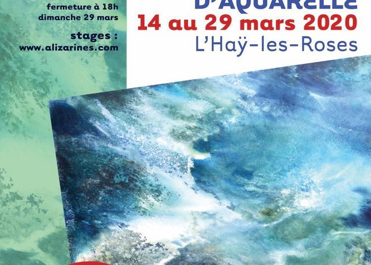 19e salon de l'aquarelle Alizarines à L'Hay les Roses