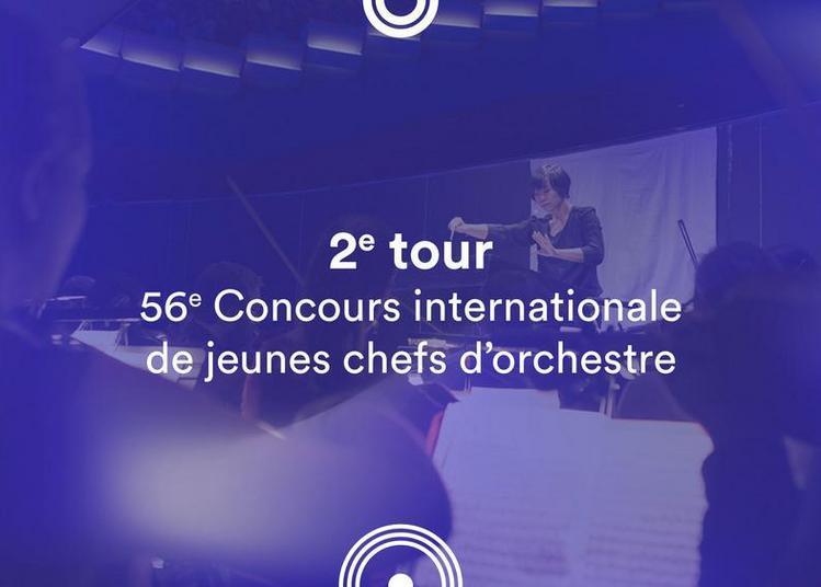 2e tour - 56e Concours de jeunes chefs d'orchestre à Besancon