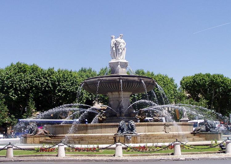 Eaux et Fontaines à Aix en Provence