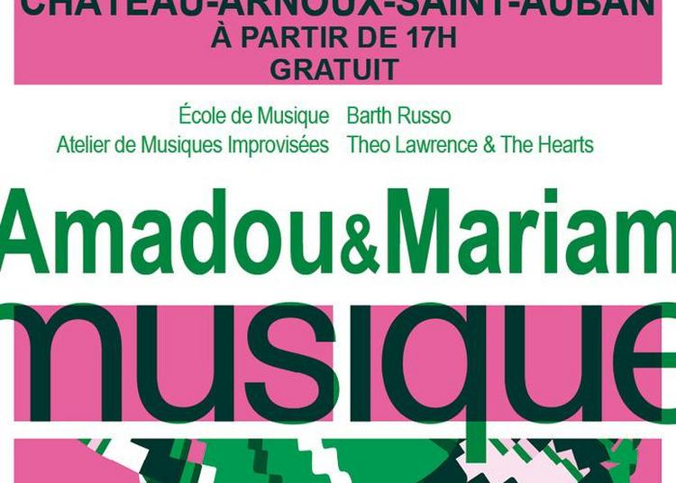 Ecole De Musique / Ami / Barth Russo / Theo Lawrence And The Hearts / Amadou & Mariam à Chateau Arnoux saint Auban
