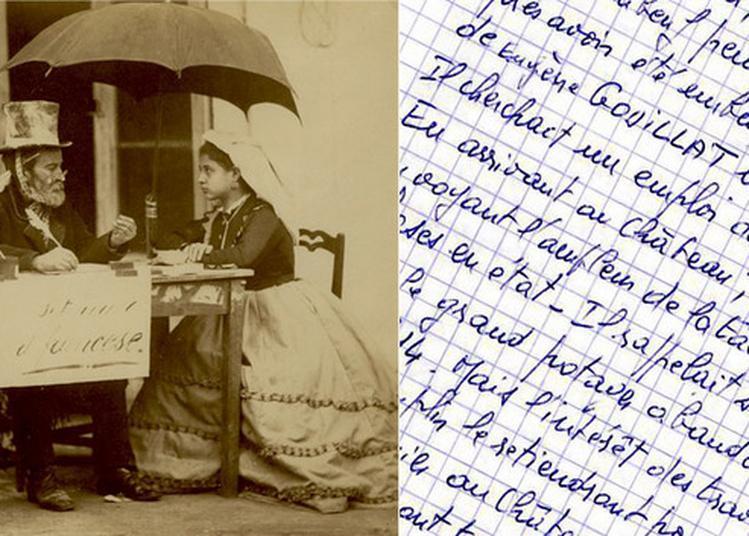 Ecrivains Publics : Racontez Vos Souvenirs Du Domaine Du Grand Daubeuf à Daubeuf Serville