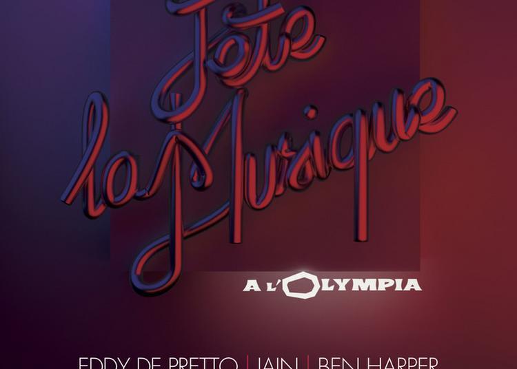 Eddy De Pretto / Jain / Ben Harper / Parcels / Angèle / Camille / Arnaud Rebotini (dj Set) à Paris 9ème