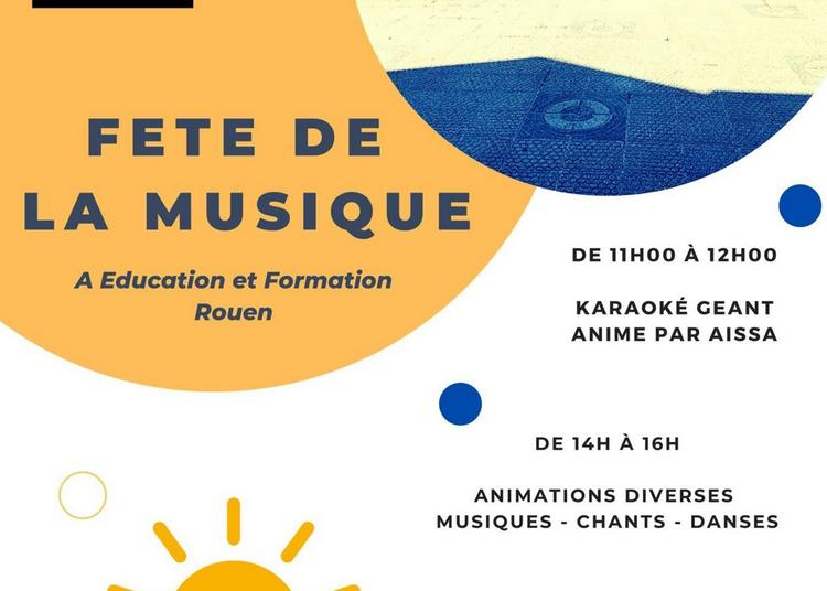Education et Formation organise sa Fête de la musique à Rouen