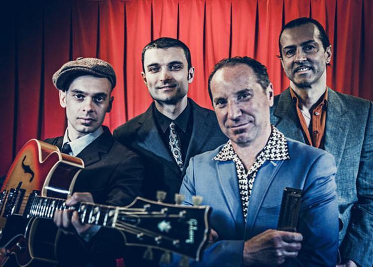 Egidio Juke Ingala & The Jacknives à Paris 5ème