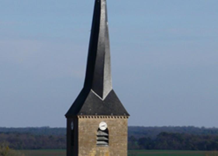 Église Et Son Clocher Tors à Gigny