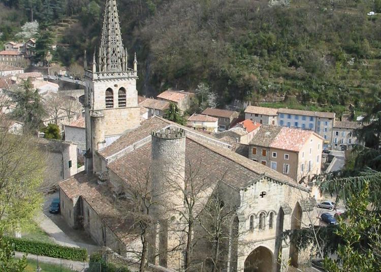 Eglise Notre Dame Des Pomiers à Largentiere