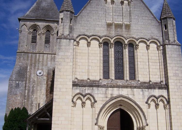 Eglise Saint-aubin à Blaison Gohier