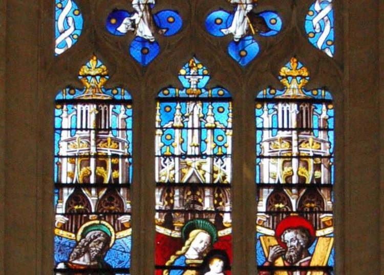 Eglise Saint Jean Baptiste Et Ses Vitraux Du Xvème Et Du Xixème Siècle à L'Arbresle