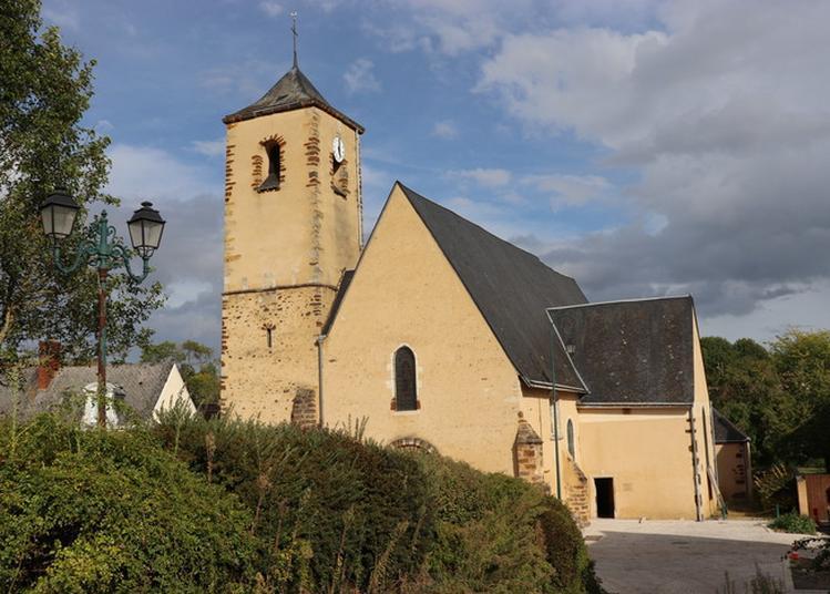 Eglise Saint Martin XIe à Chemire le Gaudin