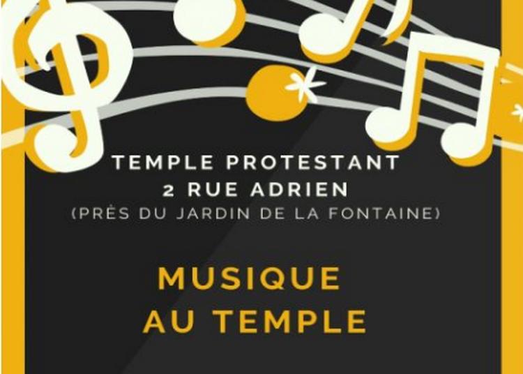 Musique au Temple à Nimes