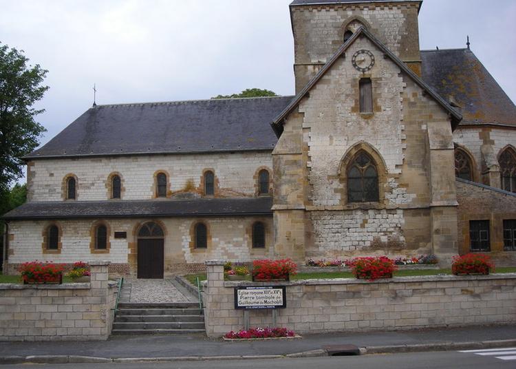 Eglise Saint-paul-et-saint-pierre à Machault