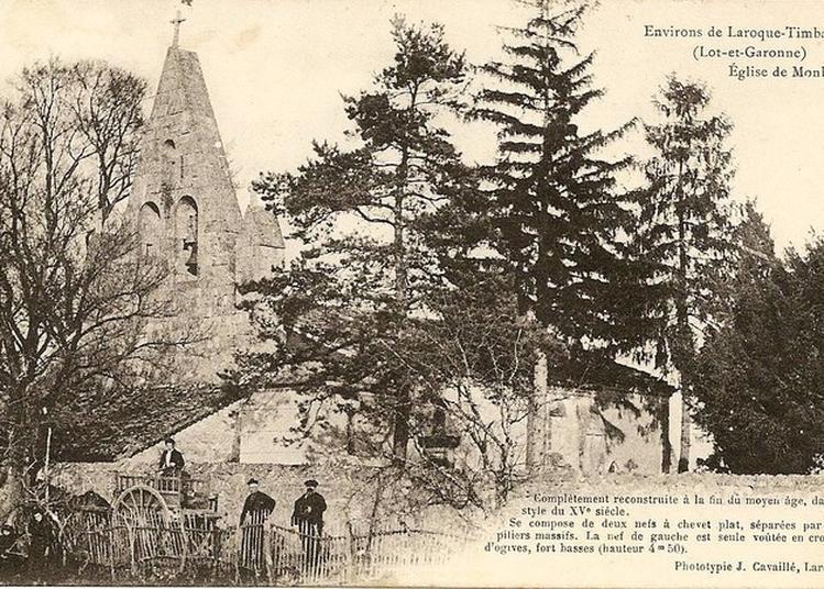 Eglise Saint-pierre à Monbalen