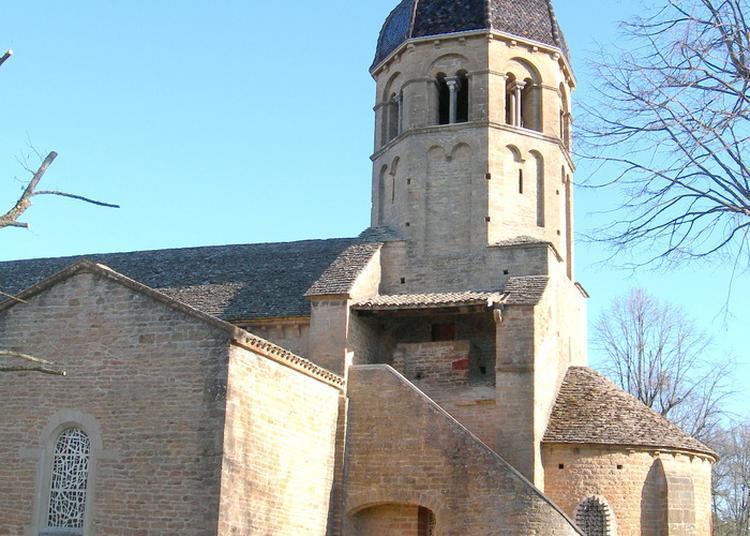 Église Sainte-madeleine à Charnay les Macon