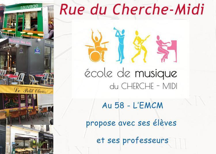 Elèves De L'école De Musique à Paris 6ème