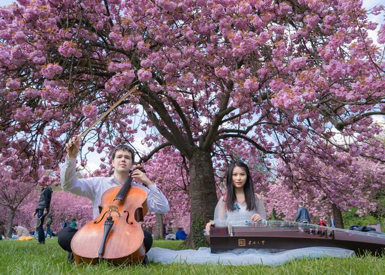 Elfes Franco-chinois Dans Le Jardin Secret à Paris 1er