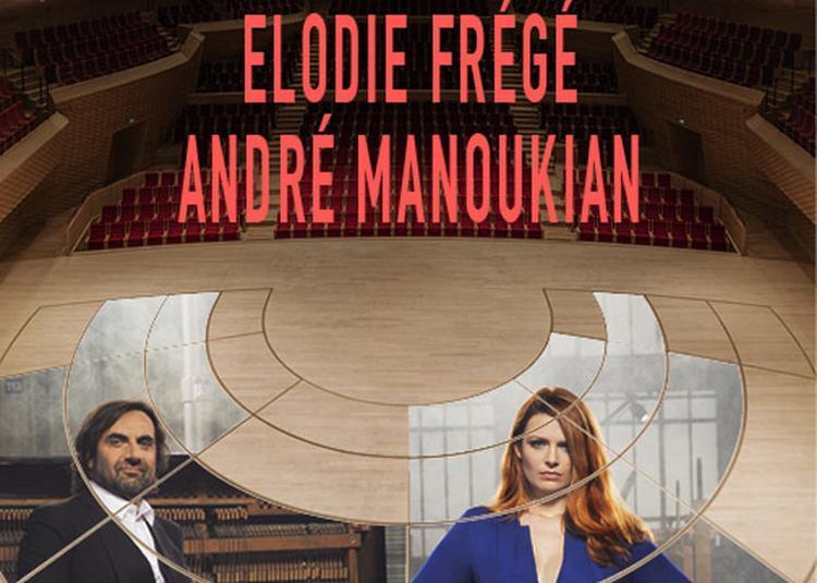 Elodie Frege - Andre Manoukian à Boulogne Billancourt