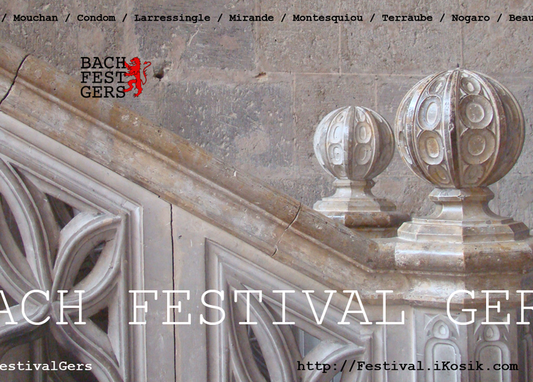 3ème bach festival gers 2018 - concert pour violoncelle seul à Nogaro