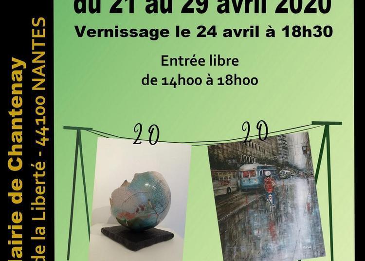 20ème Exposition de Printemps peinture et sculpture à Nantes