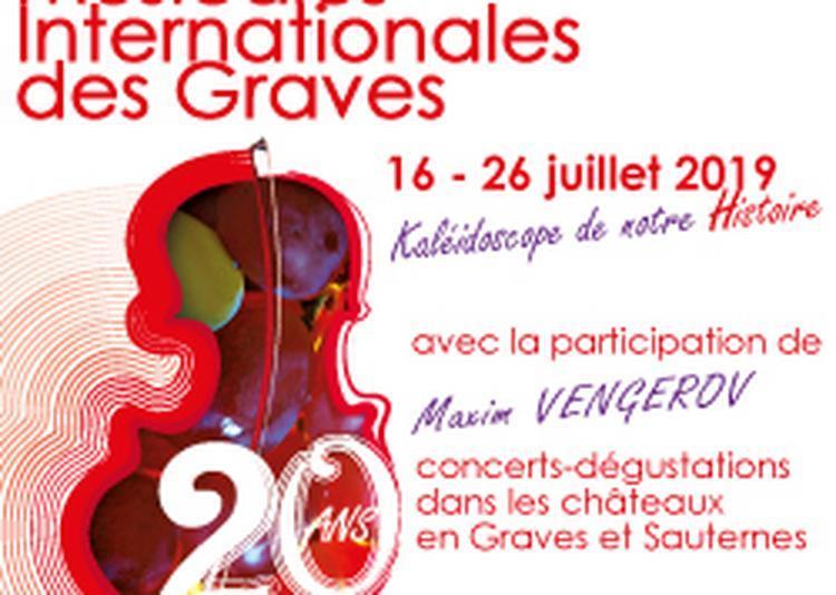20èmes Rencontres Musicales Internationales Des Graves - Soirée Maxim Vengerov à Martillac