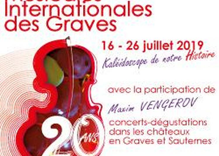 20èmes Rencontres Musicales Internationales Des Graves - Concert La Fabrique Des Virtuoses à Martillac