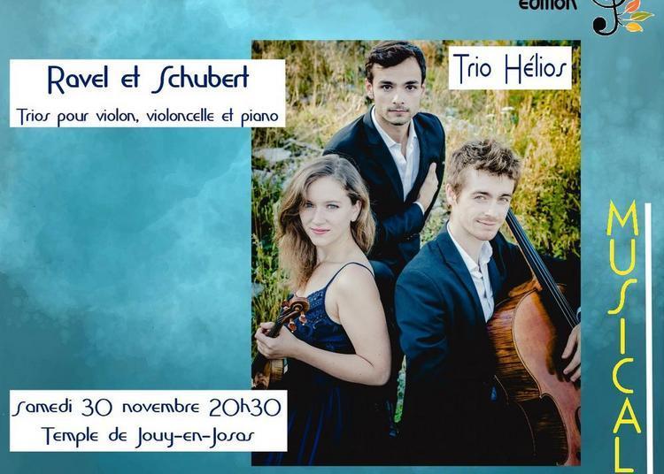 6èmes Musicales d'Automne en Haute Bièvre «Trio Hélios » 2019